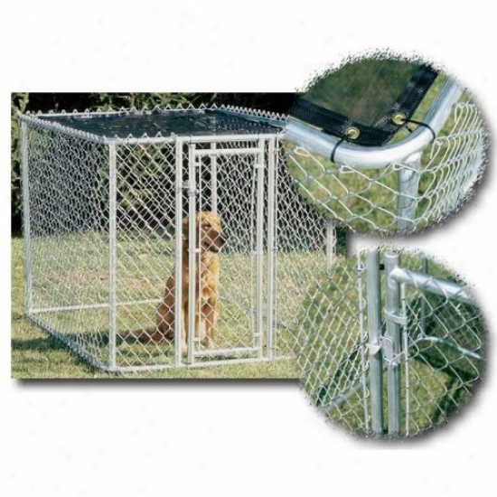 Midwest K9 Chain Link Kennel