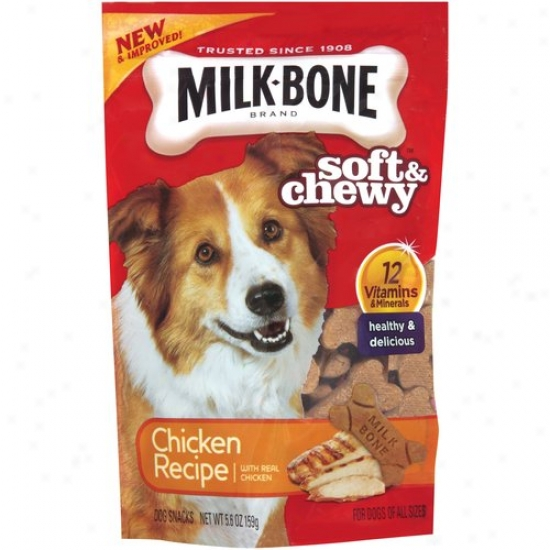 Milk-bone Chicken Drumstix Special Recipe Chewy Dog Treats, 5.6 Oz