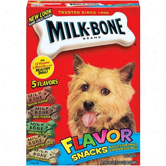 Milk Bone Flavor Small/medium Dog Snacks,  24 Oz