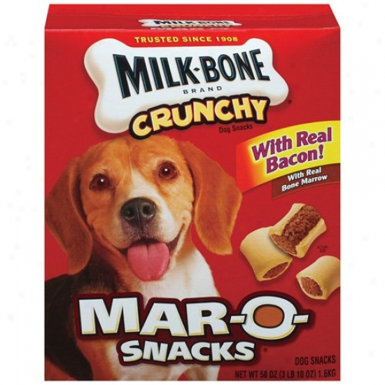Milk-bone Mar-o-snacks Crunvhy Dog Snacks, 58 Oz