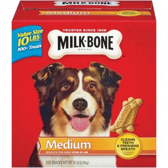 Milk-bone Medium Dog Treats, 10 Lbs