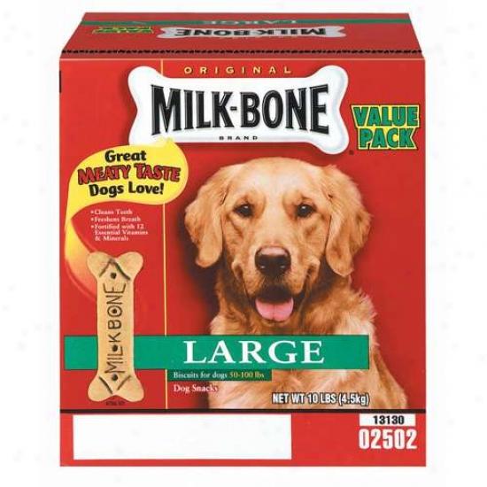 Milk-bone: Original Large Value Pk Dog Biscuits, 10 Lb