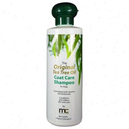 Miraclecorp 1808 Miracle Coat Original Tea Tree Coat Care Shampoo