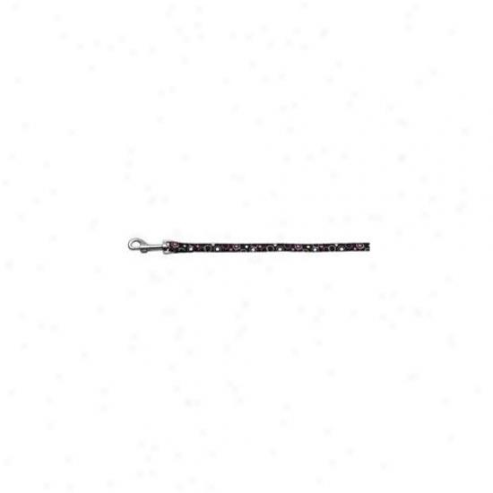 Mirage Pst Products 125-003 3804bk Retro Nylon Ribbon Collar Black . 38 Wide 4ft Lsh