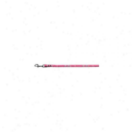 Mirage Pet Products 125-009 3806bpk Insane Hearts Nylon Collars Bright Pink . 38 Wide 6fg Lsh