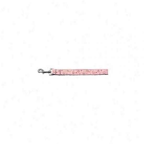 Mirage Pet Products 125-019 1006lpk Cupcakes Nylon Ribbon Lessh Light Pink 1 Inch Wide 6ft Long