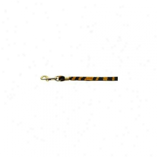 Mirage Pet Products 80-07 Pltg Animal Print Leash Tiger . 38 Plain Leash