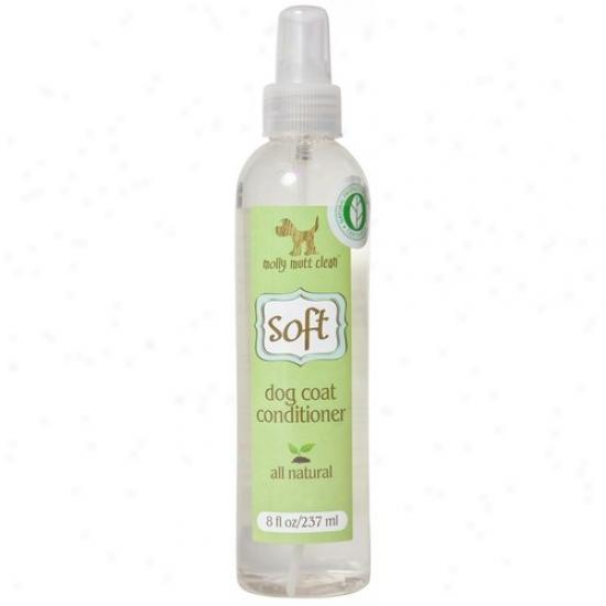 Molly Mutt Llc Soft01 8 Oz Soft Dog Coat Conditioner