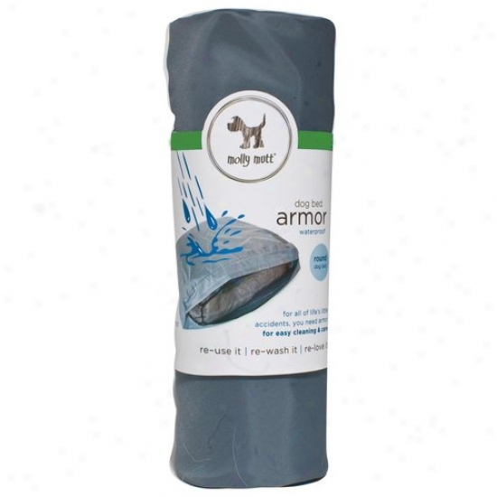 Molly Mutt Ssw01c 45-in X 36-in Midnight Train Armor Waterrpoof Dog Bed Liner