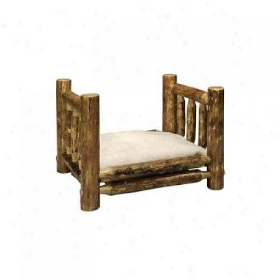 Montana Woodworks Mwgcrdgs Pet Bed W/ 16x20 Mattress Glacier Country