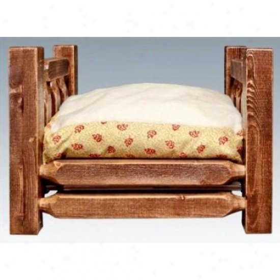 Montana Woodworks Mwhcrdgssl Fondling Em~ W/ 16x20 Mattress Homestead Collection Stained And Lacquered