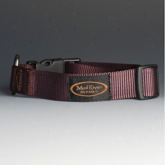 Mud River Dog Products The Bootlegger Dog Collar In Brown