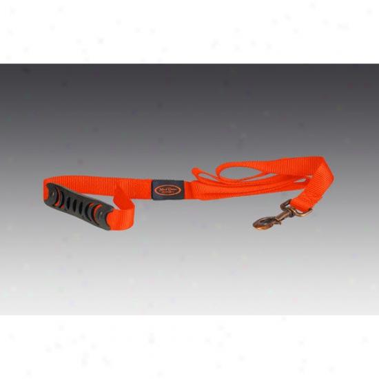 Mud River Dog Products The Hatch Dog Leash In Blaze Orange