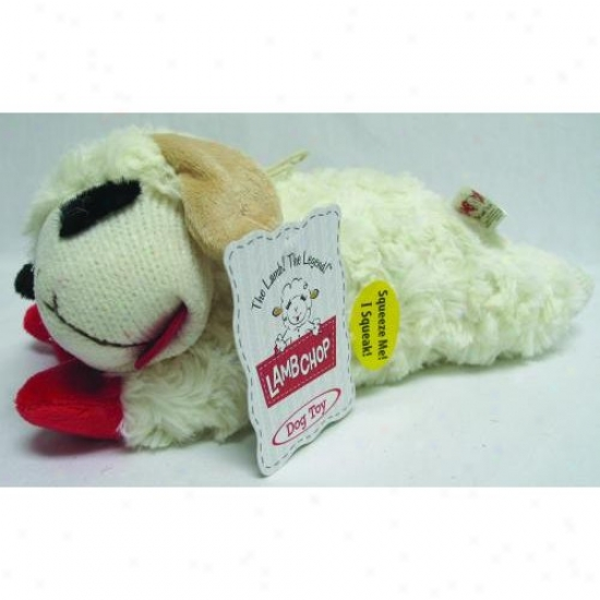 Multipet 48375 Lamb Chop Dog Toy