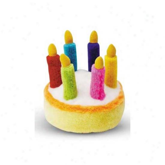 Multipet Birthday Cake Plush Toy