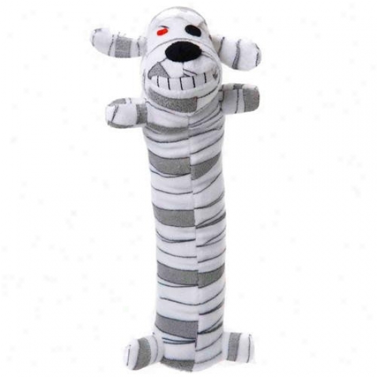 Multipet Loofa Hallowene Mummy Dog Toy