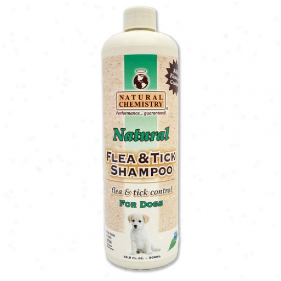 Natural Chemistry 16oz. Natursl Flea And Tick Shampoo