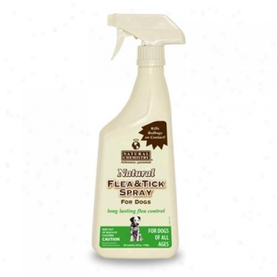 Natural Chemistry Flea And Tick Spray For Dogs 16 Oz