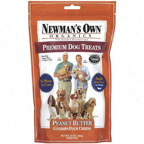 Newmzns Own Organics 60888 Organic Peanut Butterr Small Dog Treats