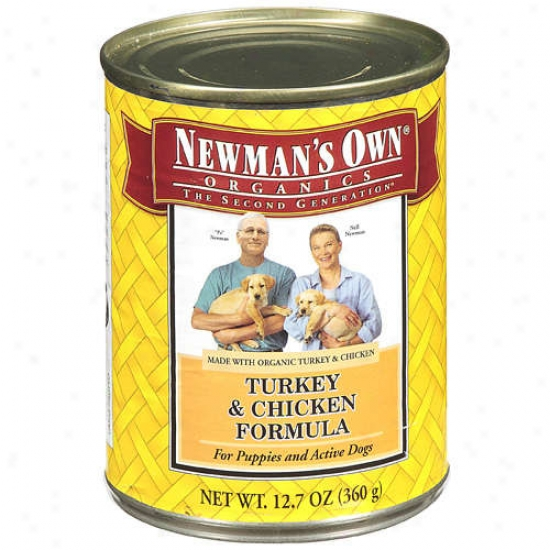 Newmans Own Organics 61333 Organic Turkey & Chicken Dog Food