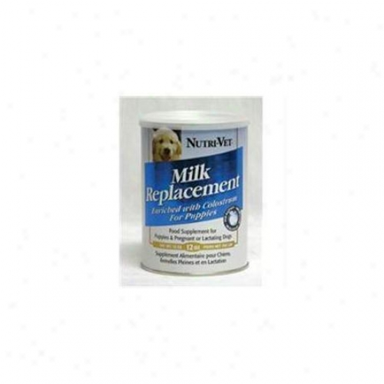Nutri-vet, Llc - Puppy Milk Replacmenf Powder 12 Onuce - 99879