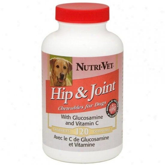 Nutri Vet Nutritionals 00285-8 Hip And Joint Liver Chewables