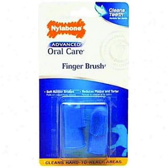 Nylabone Corp Npd701p Advanced Oral Care Finger Brush