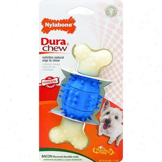 Nylabone Corp Ntg502 Dura Chew Double Action Dental Chew