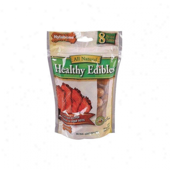 Nylabone Healthy Edibles Roast Beef Dog Treat