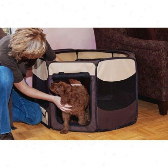 Octagon Pet Pen With Removable Highest