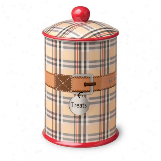 October Hill Dog And Cat Treat Canister