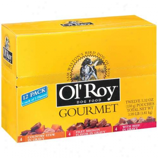 Ol' Roy: 5.32 Oz Dog Food, 12 Ct