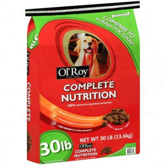 Ol' Roy Complete Nutrition Dog Food, 30 Lbs