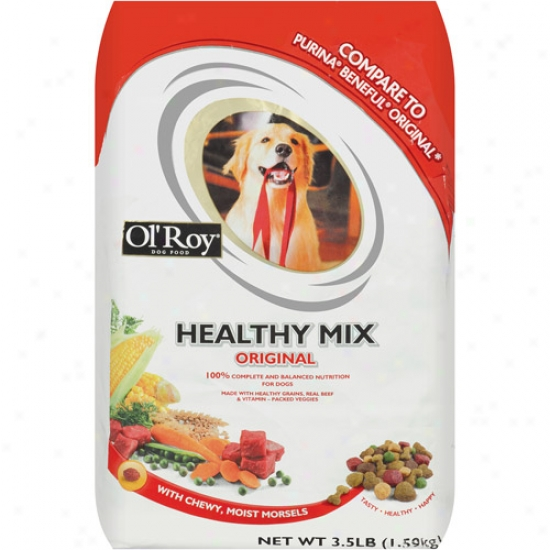 Ol' Roy Wholesome Mix Original Dog Food, 3.5 Lb