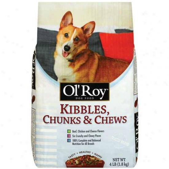 Ol' Roy Kibbles Chunks & Chews 4lb