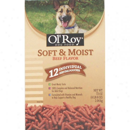 Ol' Roy Soft Moist Beef Dog Food, 4 Lb 8 Oz
