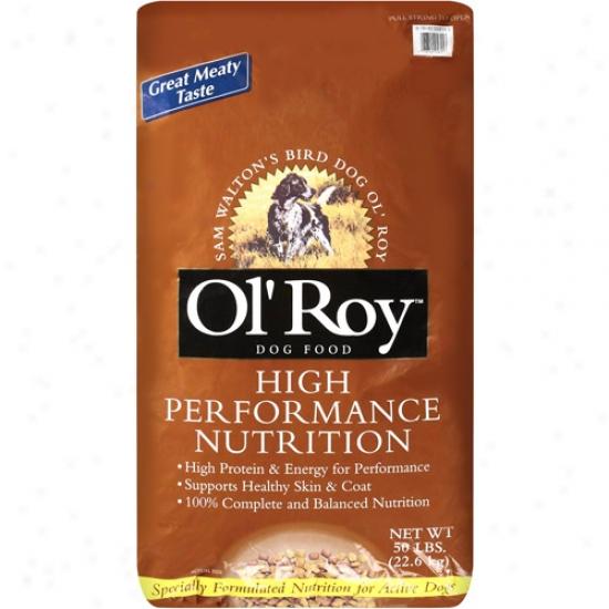 Ol' Roy: Dog High Performance Food, 50 Lb