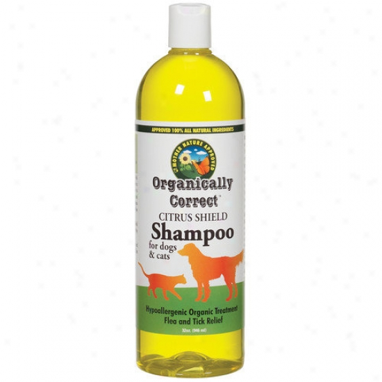 Organically Correct Citrus Shampoo For Dogs And Cats
