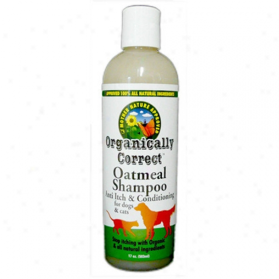 Organically Correct Organically Correct Oatmeal Shampoo For Dogs &aml; Cats