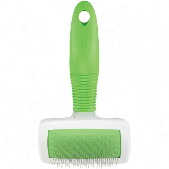 Oster Brush & De-mat Slicke rBrush For Small Dogs