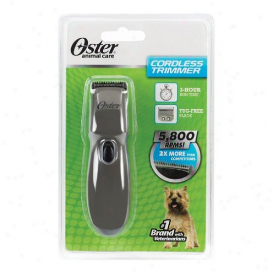 Oster Cordless Trimmer In the place of Dogs