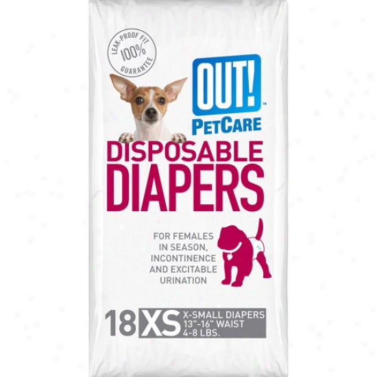 Out Disposable Diapers, Size Extra Small
