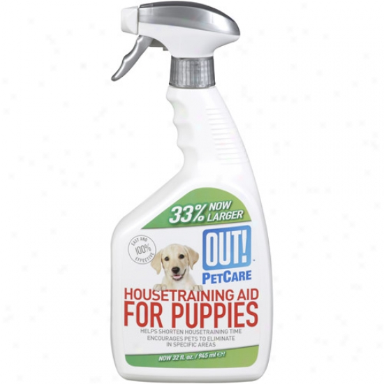 Out! Pet Care Housetraining Aid For Puppies, 32 Oz