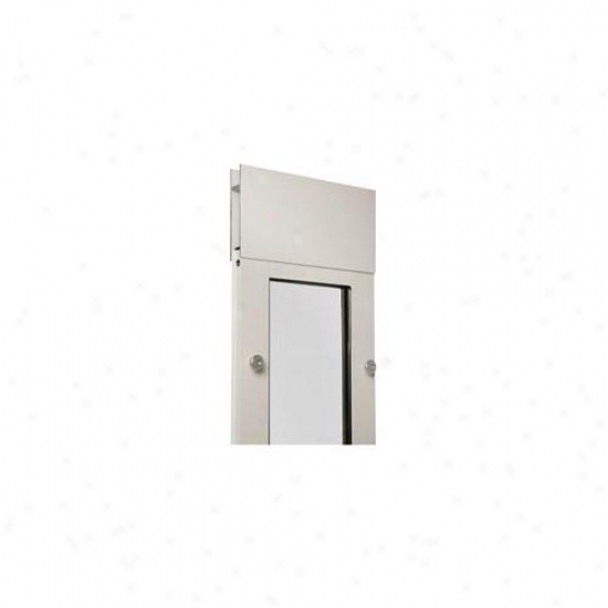 Patio Pacifix 01ppc08s Pw Quick Panel 3 Number 08 Wiith Endura Flap - 74. 75 Inches-77. 75 Inches, White Frame