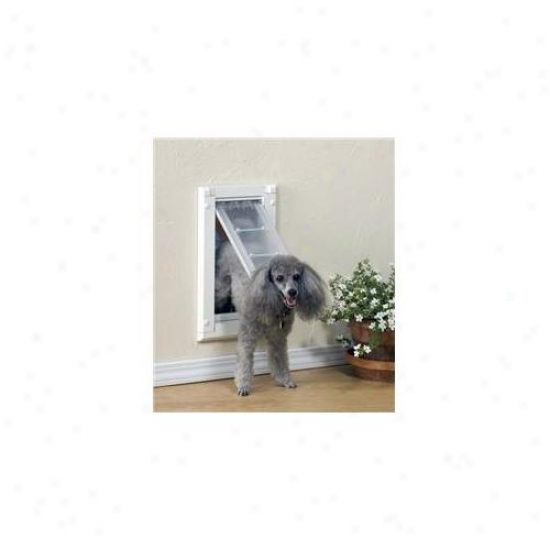 Patio Pacific 04pp10 1 Endura Flap Pet Door For Walls Number 10 - Single Flap