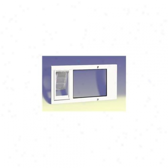 Patio Pacifci 07ppc10 Fw Thermo Sash 3e Number 10 - White, 34 Inches-37 Inches