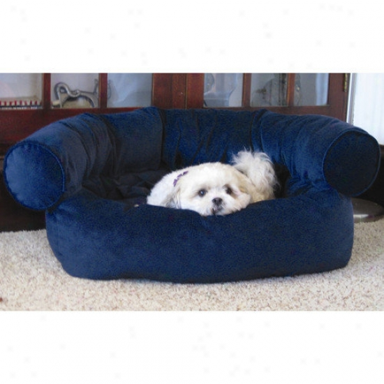 Paus Pet Sofa Bed In Microfiber