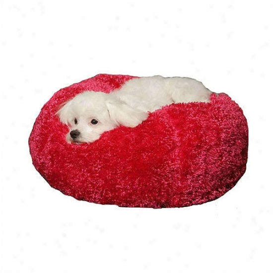 Paus Silky Fleecr Ball Dog Bed