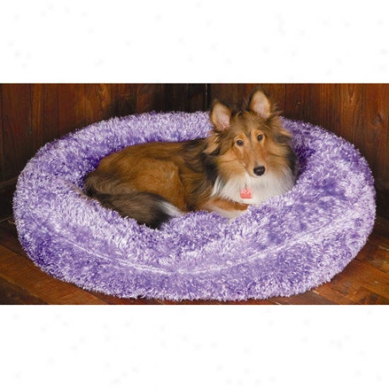 Paus Towne Square Dog Bed In Silky Fleece