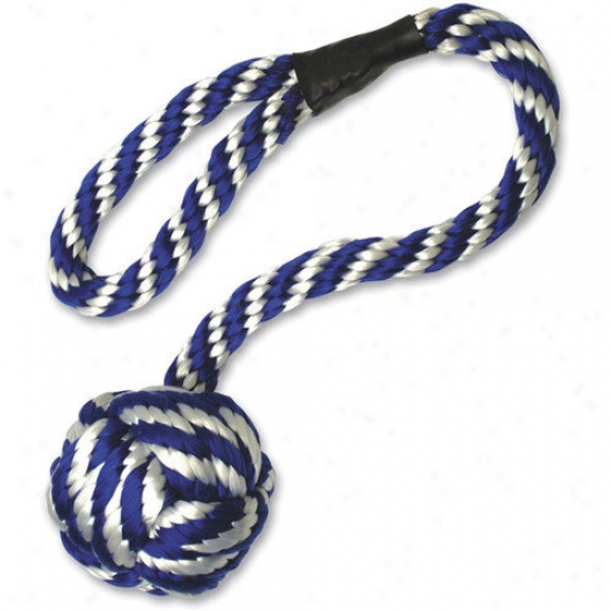Paws Aboard Monkey Fust Rope Dog Toy
